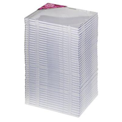 Tesco Slimline Cases for 40 CDs / DVDs