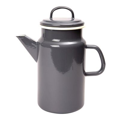 Dexam Vintage Home Enamel Coffee Pot, Slate Grey