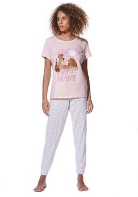 Disney Lady and the Tramp Pyjamas Grey 6