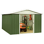 Yardmaster Metal Apex Shed, 10x10ft