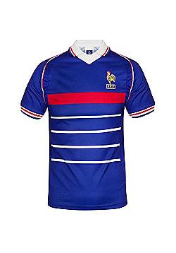 France Mens 1998 Shirt - Blue