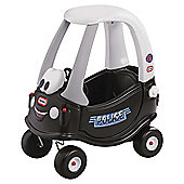 Little Tikes Cozy Coupe Police Patrol Ride-On Car