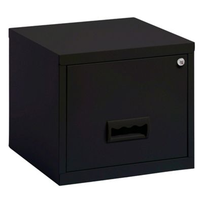 Pierre Henry A  Drawer Maxi Filing Cabinet Black