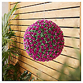 Tesco Artificial Purple Rose Ball
