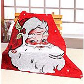 EHC Festives Santa Claus Throw