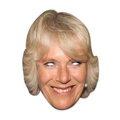 Camilla Parker Bowles Mask