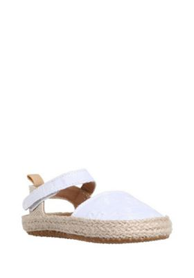 F&F Broderie Anglaise Espadrille Pumps White 0-3 months