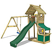 Climbing Frame Wickey Smart Shop Climbing Tower With Green Slide