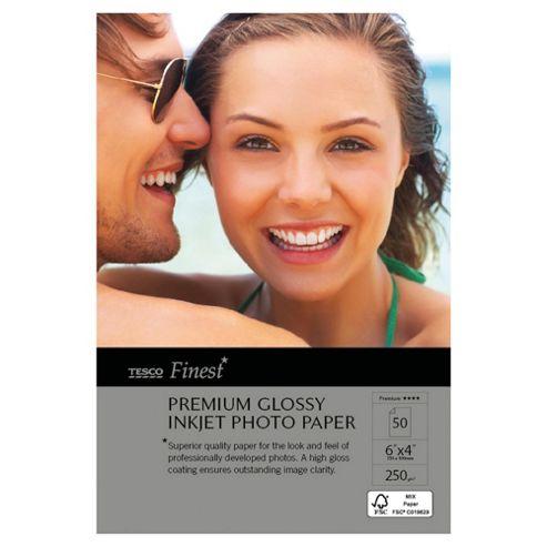 Tesco Finest premium glossy inkjet Photo Paper - 50 Sheets