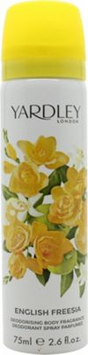 Yardley English Freesia Body Spray 75ml