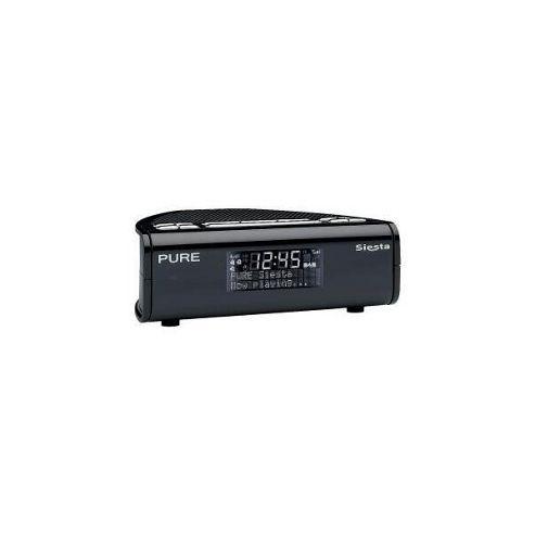 Pure Siesta Dab/Fm Alarm Radio (Black)