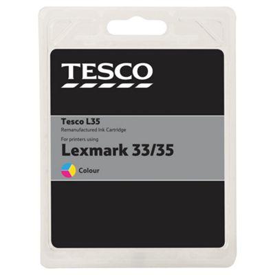 Tesco L121 Colour Printer Ink Cartridge - Tri-Colour