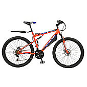 "Boss Carnage 21 Speed 27.5"" Wheel Full Suspension Mountain Bike"