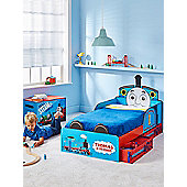 Thomas The Tank Engine Toddler Bed With Storage Plus Fully Sprung Mattress