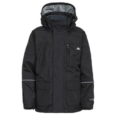 Trespass Boys Prime II Jacket Black 11-12