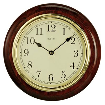 Acctim Boston Wood Wall Clock