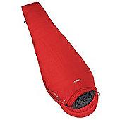 Vango Latitude 200 Single Sleeping Bag - Volcano Red