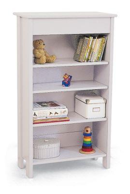 Milkshake White Bookcase - 3 Shelf
