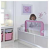 Lindam Easy Fit Bed Guard in Pink