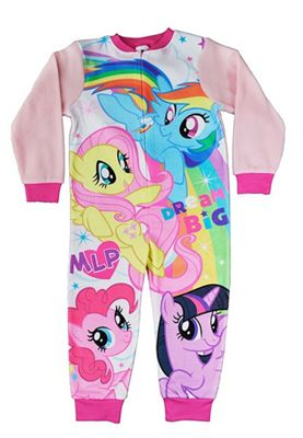 My Little Pony Girls 'Fleece' Jumpsuit 4-5 Years