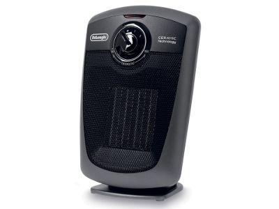 Delonghi DE3130 Vertical Ceramic Heater Black