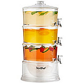 VonShef 3 Tier Party Drinks Dispenser