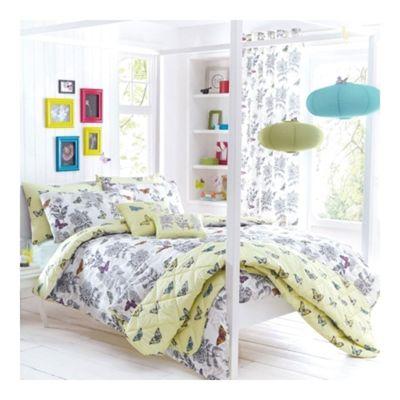 Dreams n Drapes Aviana Lemon Bedspread - 195x229cm