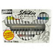 Pebeo Studio Acrylic Sets - 30 X 20ml Set + Brush
