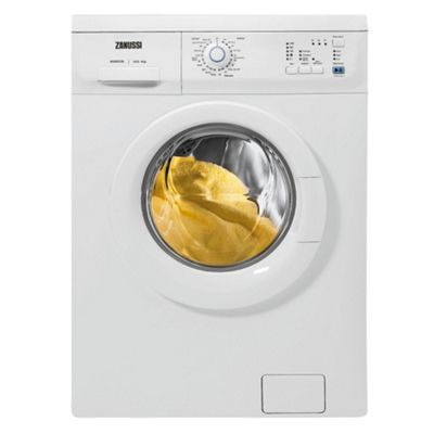 Direct Energy Pay As You Go >> Buy Zanussi ZWF16070W1 Washing Machine, 6kg Wash Load, 1600 RPM Spin, A Energy Rating. White ...