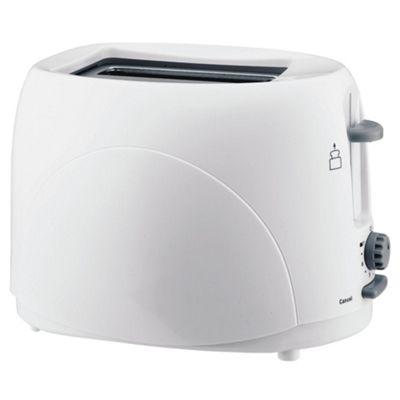 Tesco 2T07 2 Slice Toaster - White