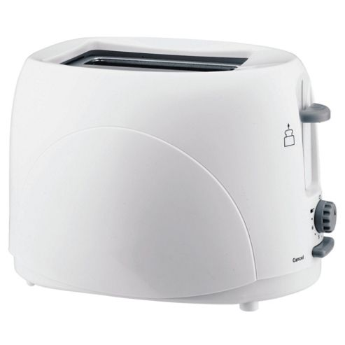 Tesco 2T07 2 Slice Toaster - White