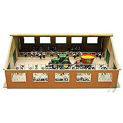 Wooden Farm With Boxes