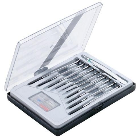 Tesco Precision Screwdriver Set + Spectacle Repair Kit