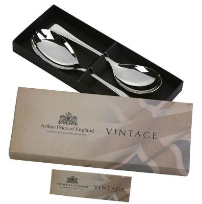 Arthur Price Vintage Design Serving Spoon & Fork