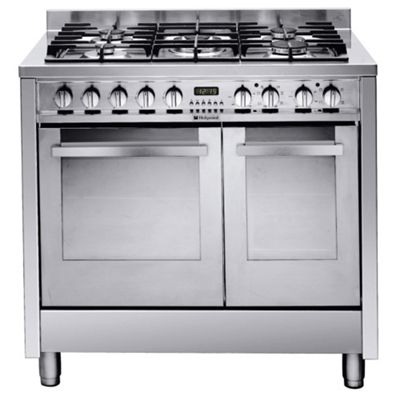 Hotpoint EG902GX dual fuel cooker