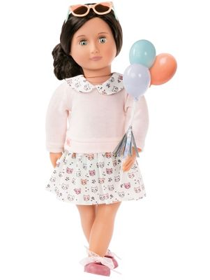 Our Generation 18-inch Doll Up And Away Outfit