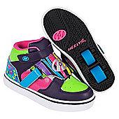 Heelys Tornado Purple/Neon Heely Shoe Kids Heely Shoe - Purple