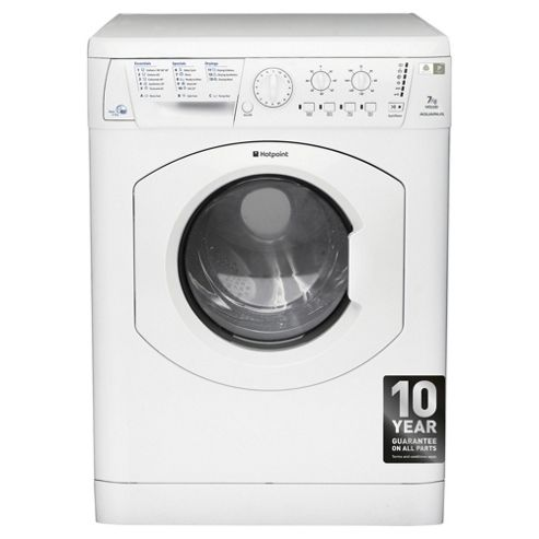 Hotpoint Aquarius Washer Dryer, WDL 520 P (UK).C, 7KG load, with 1200 rpm - White