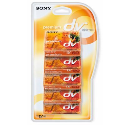 MiniDV Premium Tape 5D V. M60PR-BT.