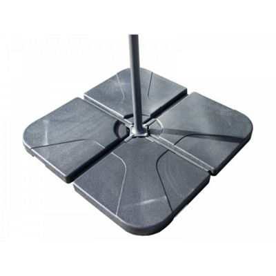Plastic Base for Cantilever Parasol