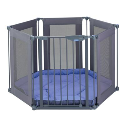 Lindam Safe u0026 Secure Fabric Playpen  sc 1 st  Tesco & Buy Lindam Safe u0026 Secure Fabric Playpen from our Playpens u0026 Room ...