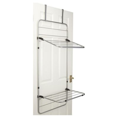 Minky Door And Wall Mountable Indoor Clothes Airer