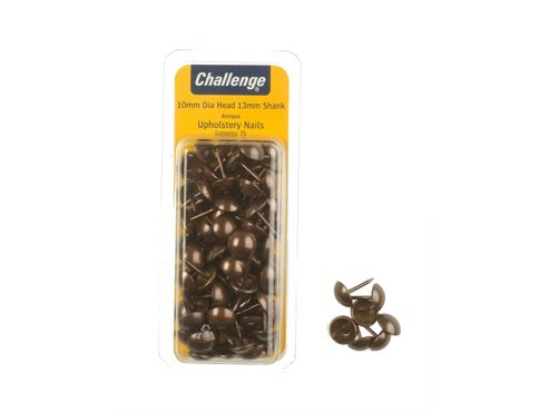 Shaw Challenge Uphols Nails Brs 10Mm Clam