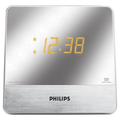 Philips AJ3231 Mirror Display Dual Alarm Clock Radio