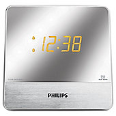 Philips AJ3231 Mirror Display Dual Alarm Clock Radio