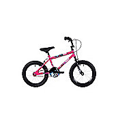 "Ndecent Flier Pink 16"" Freestyle Junior Bmx"
