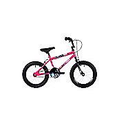 """Ndecent Flier Pink 16"""" Freestyle Junior Bmx"""