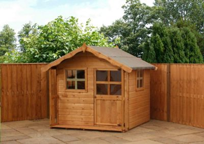 Mercia Poppy Wooden Playhouse, 5ft x 5ft