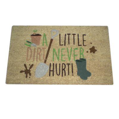 Puckator A Little Dirt Never Hurt Gardening Design Door Mat