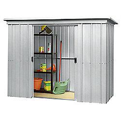 Yardmaster Metal Pent Shed, 6x4ft